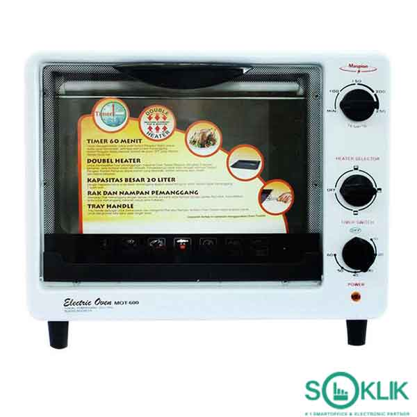 Electric Oven Maspion MOT600 Murah