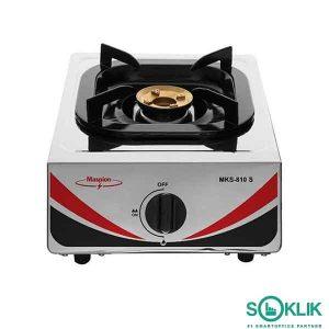 Kompor Gas Maspion Stainless MKS810S