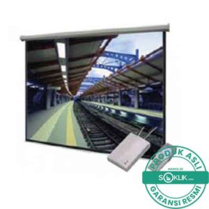 Jual Screen Motorized Projector Datalite 120 Inch