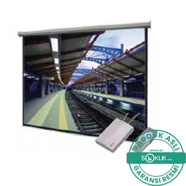 Jual Screen Motorized Projector Datalite 120 Inch