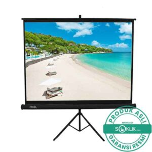 Screen Projector Tripod Pixelscreen 96 Inch