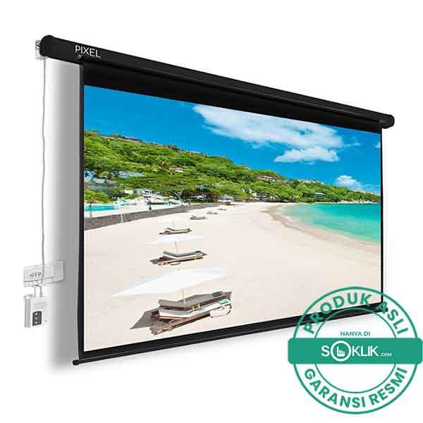 Screen Proyektor Electric Pixelscreen 120 Inch