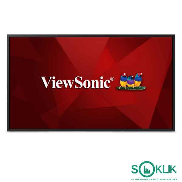 Viewsonic Digital Signage Wireless CDE6520 65 Inch